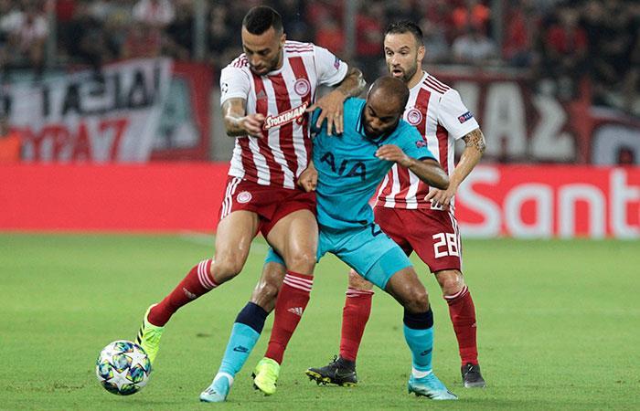 Tottenham no pudo con el Olympiacos (Foto: EFE)