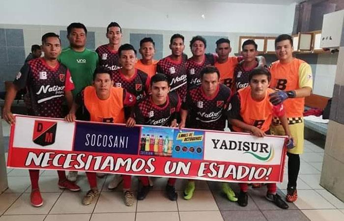 Deportivo Maldonado (Foto: Facebook del club)