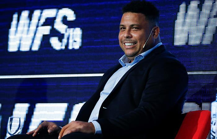 Ronaldo Nazário. Foto: EFE