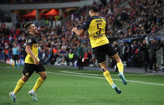 Dortmund doblegó al Slavia Praga (Foto: EFE)