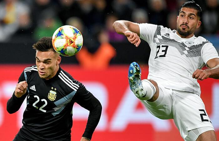 Argentina igualó con Alemania (Foto: EFE)