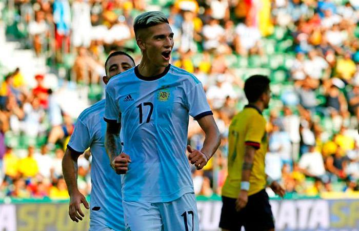 Image Result For Vivo Argentina Vs Ecuador Amistoso En Vivo Goles