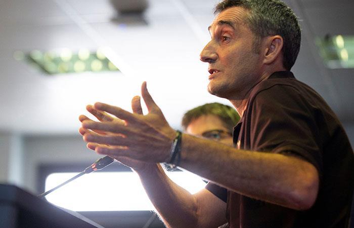 Ernesto Valverde. Foto: EFE