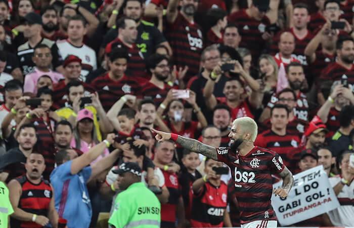 Flamengo finalista de la Copa Libertadores (Foto: EFE)
