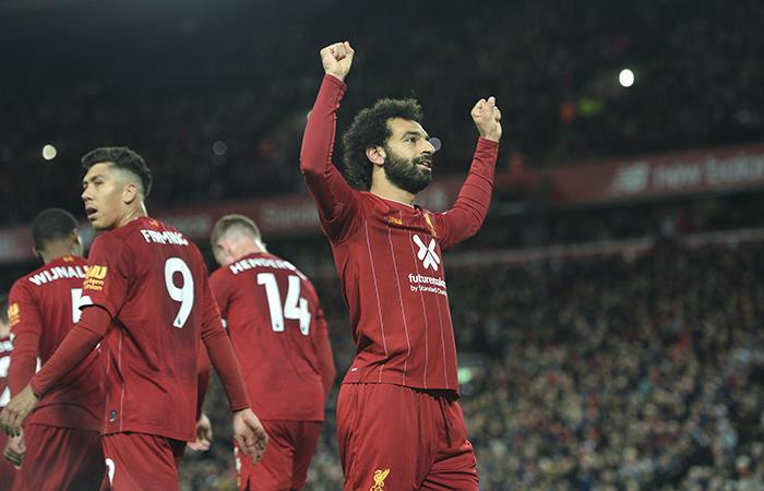 Liverpool venció 2-1 al Tottenham. Foto: EFE