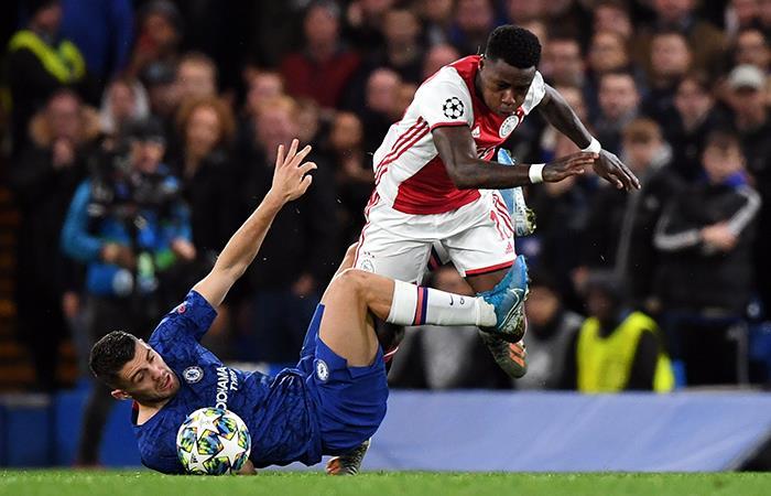 Chelsea igualó 4-4 con el Ajax en el Stamford Bridge. Foto: EFE