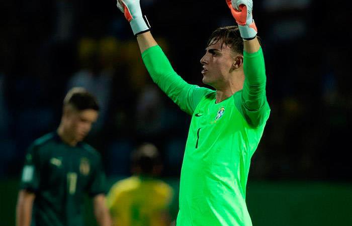 Brasil venció 2-0 a Italia y ya está en las semifinales del Mundial Sub 17. Foto: EFE