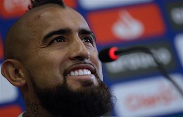 Arturo Vidal respondió a hinchas chilenos que pidieron no jugar contra Perú
