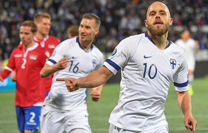 Finlandia se clasificó a la Euro. Foto: EFE