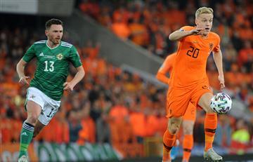 Holanda igualó con Irlanda del Norte y se clasificó a la Eurocopa 2020