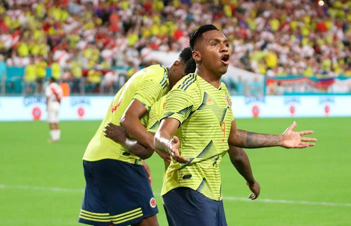 Perú nunca le ha podido ganar a Colombia en la 'Era Gareca'. Foto: Twitter