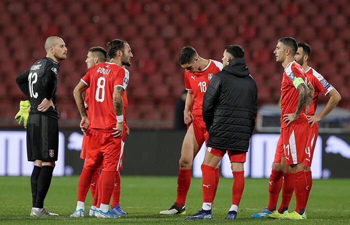 Serbia no pudo con Ucrania. Foto: EFE