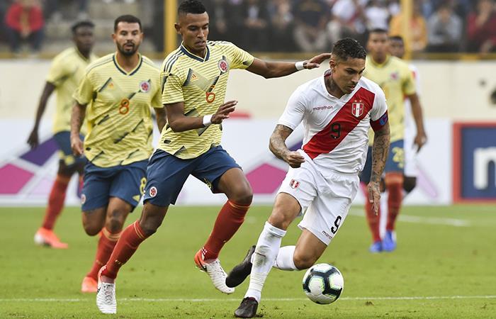 Perú enfrentaría a Colombia en la primera fecha de Qatar 2022 (Foto: Andina)