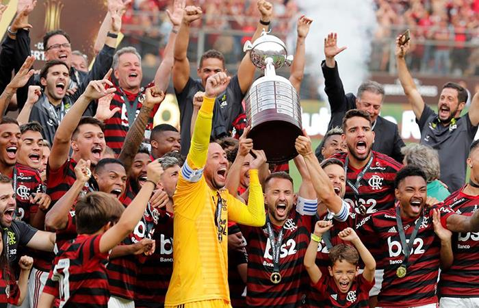 Flamengo es campeón de la Copa Libertadores. Foto: EFE
