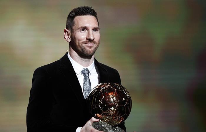 Lionel Messi gana su sexto Balón de Oro (Foto: EFE)