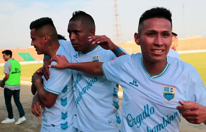 Deportivo Llacuabamba. Foto: Facebook