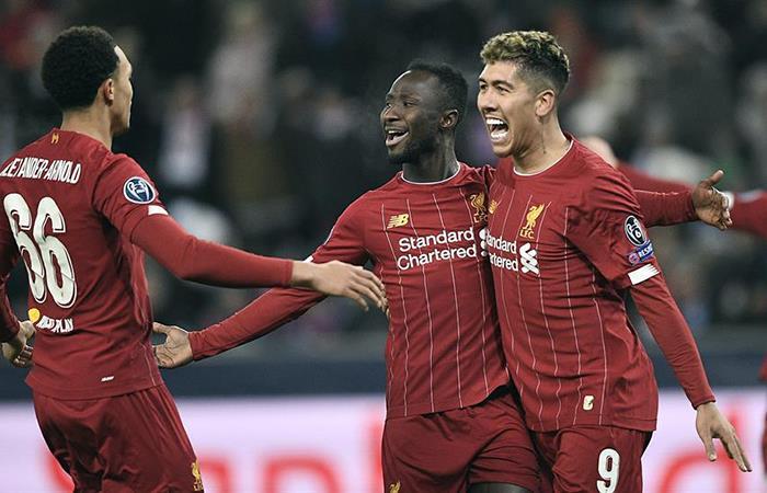 Keita y Salah fueron los autores de los goles de Liverpool (Foto: EFE)