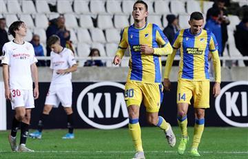 APOEL derrotó por la mínima diferencia en la Europa League