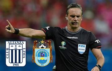 OFICIAL: Patricio Loustau dirigirá el Alianza Lima vs Binacional, por la Final de la Liga 1