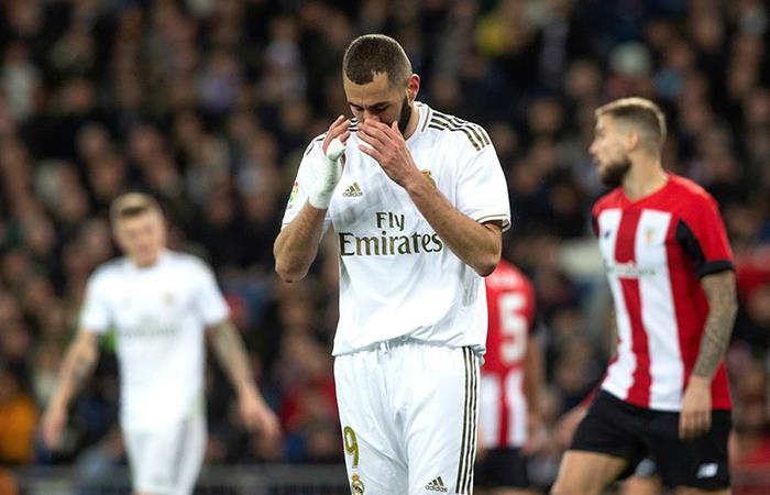 Real Madrid igualó 0-0 con Athletic Bilbao. Foto: EFE