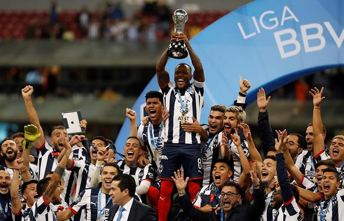 Monterrey sumó su quinto título en la historia. Foto: EFE