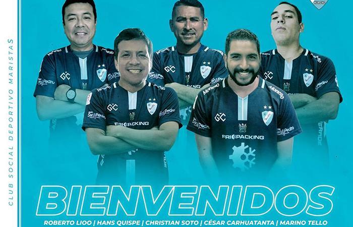 Deportivo Maristas refuerza su plantel (Foto: Facebook del club)