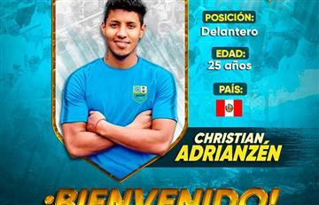 Deportivo Llacuabamba anunció los fichajes de Arly Benítes y Christian Adrianzén