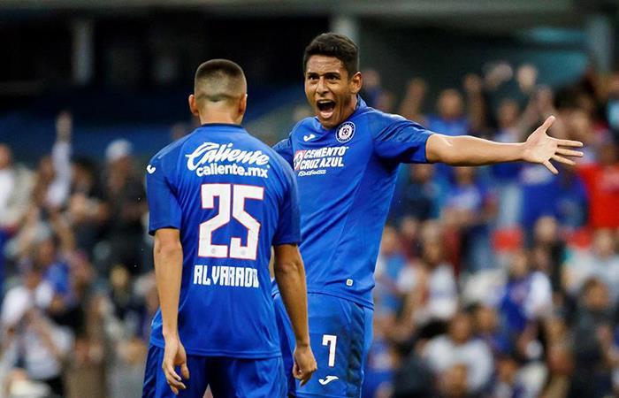 Cruz Azul goleó y consiguió su primer triunfo en el Clausura de la Liga MX (Foto: EFE)