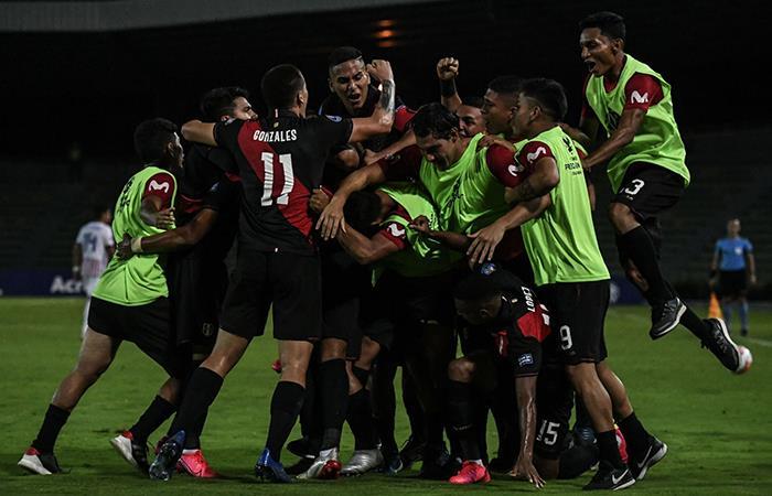 Perú sumó sus primeros tres puntos en el Preolímpico Sub 23. Foto: Andina