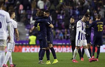 Real Madrid derrotó al Real Valladoid y es nuevo líder de LaLiga