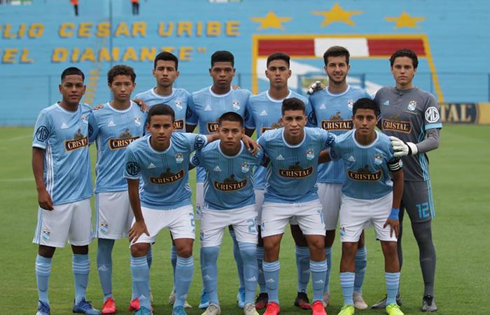 Sporting Cristal Sub 20 (Foto: Facebook del club)