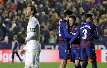 Real Madrid cayó ante Levante y dejó de ser líder en LaLiga