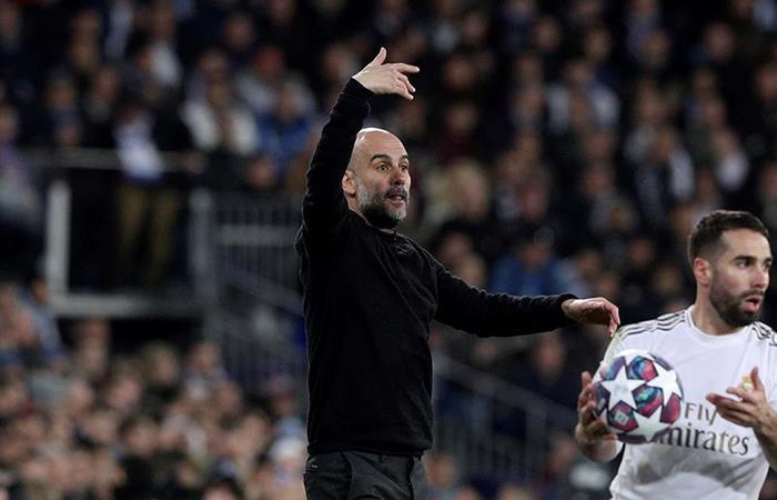 Pep Guardiola le ganó el duelo a Zinedine Zidane. Foto: EFE