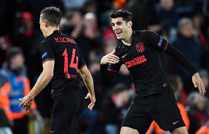 Atlético eliminó al Liverpool (Foto: EFE)