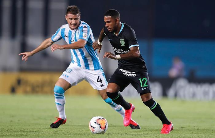 Alianza Lima cayó este jueves ante Racing (Foto: EFE)