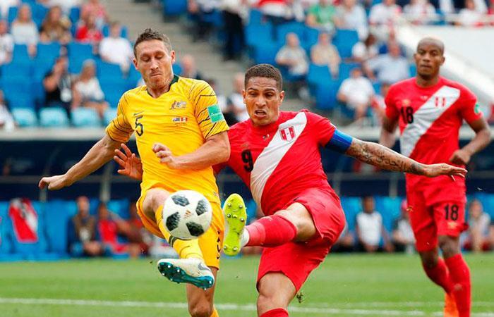 Selección Peruana. Foto: EFE