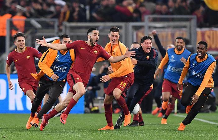 AS Roma. Foto: EFE