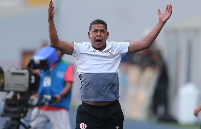 José Luis Carranza se mostró molesto con lo que viene pasando en la 'U'. Foto: Andina