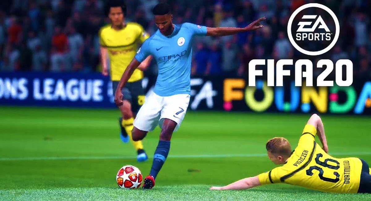 Manchester City y Dortmund figuran en este Top 10. Foto: Captura FIFA 20