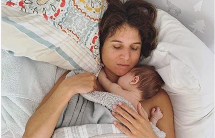 Sofía Mulanovich anunció el nacimiento de su hijo al lado de su pareja. Foto: Instagram