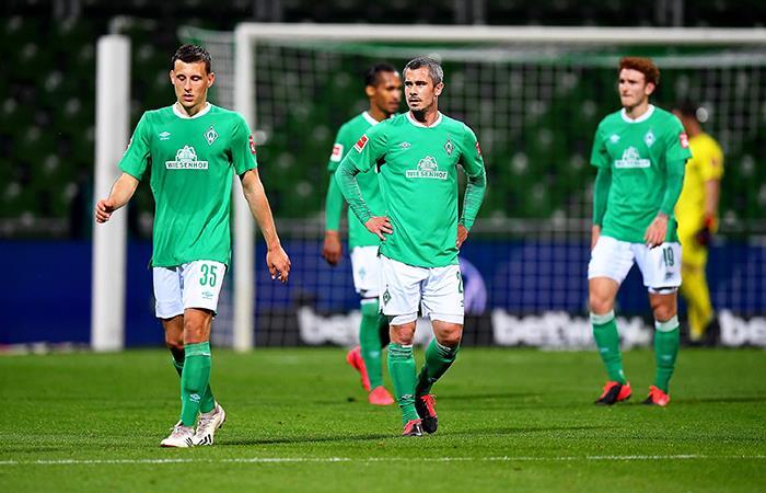 Werder Bremen no pudo hacer respetar su casa ante Leverkusen. Foto: EFE