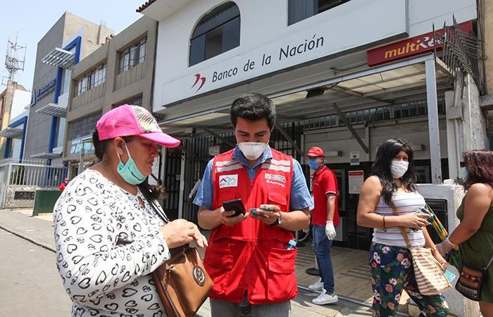 Bono Universal está dirigido a familias vulnerables. Foto: Andina