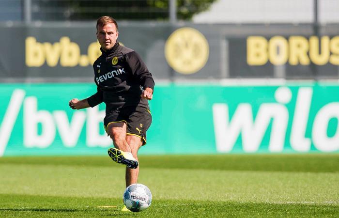 Mario Götze no renovará con el Borussia Dormund. Foto: Twitter