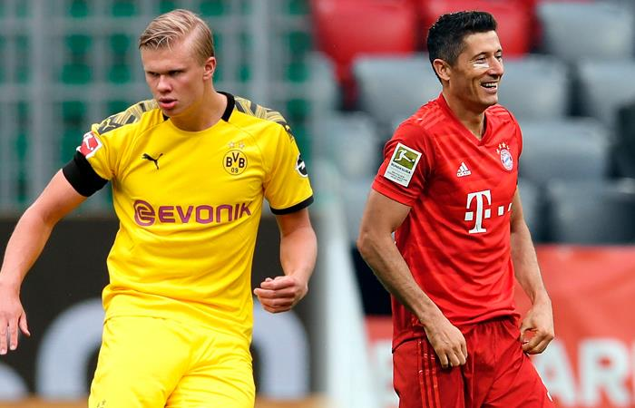 Borussia Dortmund vs Bayern Múnich. Foto: EFE