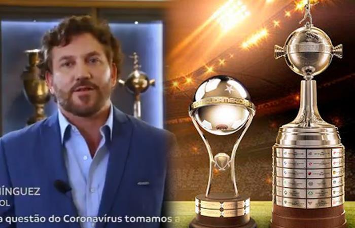 La Copa Libertadores y Copa Sudamericana seguirán en competencia. Foto: Twitter