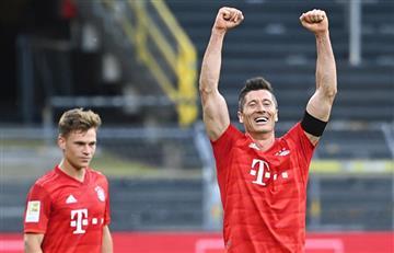 Bayern Múnich se impuso al Borussia Dortmund en el clásico alemán