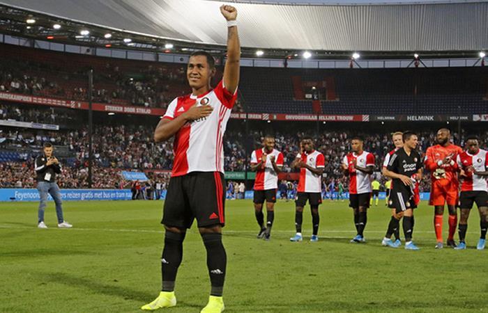 Renato Tapia culmina su contrato con Feyenoord el 1 de julio. Foto: Andina
