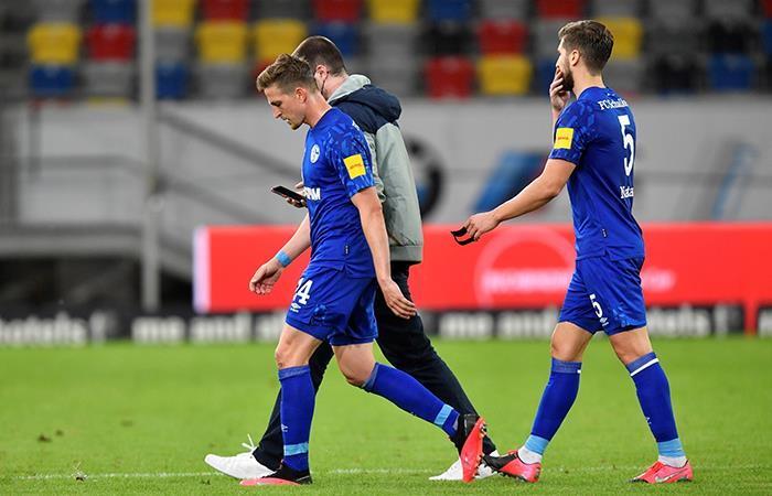 Schalke 04 cayó 2-1 ante Dusseldorf. Foto: EFE