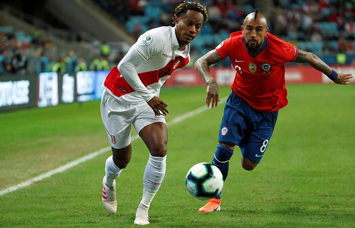 Perú goleó 3-0 a Chile en la semifinal de la Copa América 2019. Foto: EFE
