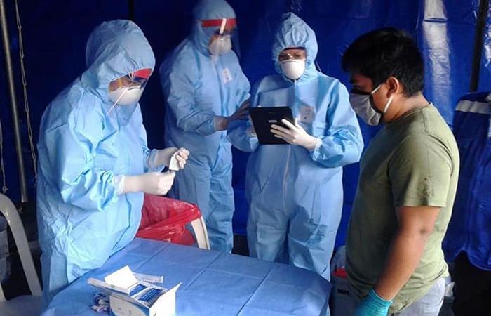 La cifra de contagios ascendió a 148.285. Foto: Andina